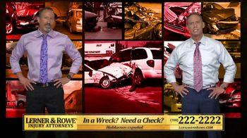 Lerner and Rowe Injury Attorneys TV Spot, 'Tough Times: Accidents Still Happen'