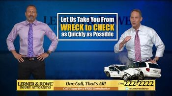 Lerner and Rowe Injury Attorneys TV Spot, 'Tough Times: Accidents Still Happen' - Thumbnail 5