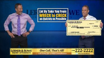 Lerner and Rowe Injury Attorneys TV Spot, 'Tough Times: Accidents Still Happen' - Thumbnail 6