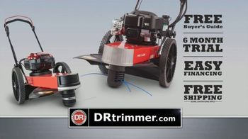 DR Power Equipment Trimmer TV Spot, 'Does It All: Six Month Trial'
