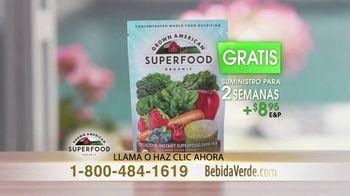 Grown American Superfoods TV Spot, 'Agua, jugo, leche y yogur' [Spanish] - Thumbnail 4