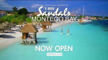 Sandals Resorts Montego Bay TV Spot, 'Mo Fun: Now Open' - Thumbnail 7