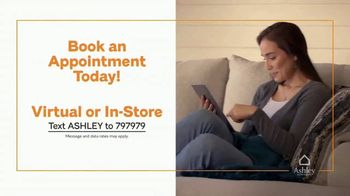 Ashley HomeStore End of Season Clearance Event TV Spot, 'Closeout Items: No Interest' - Thumbnail 8