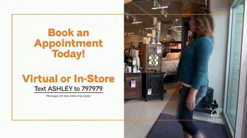 Ashley HomeStore End of Season Clearance Event TV Spot, 'Closeout Items: No Interest' - Thumbnail 7