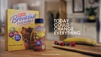 Carnation Breakfast Essentials TV Spot, 'Today Could Change Everything' - Thumbnail 6