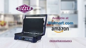 Sizzle Griddle TV Spot, 'Griddle Flavor at Home' - Thumbnail 8
