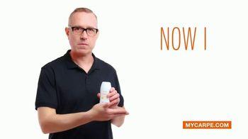 Carpe Amtiperspirant Underarm Lotion TV Spot, 'The is Patrick's Sweat Story' - Thumbnail 6