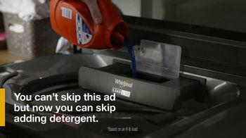 Whirlpool TV Spot, 'Load & Go: Skip Adding Detergent' - Thumbnail 5