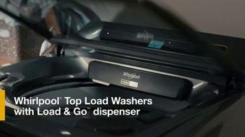 Whirlpool TV Spot, 'Load & Go: Skip Adding Detergent' - Thumbnail 7