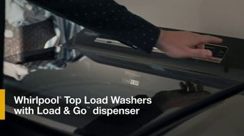 Whirlpool TV Spot, 'Load & Go: Skip Adding Detergent' - Thumbnail 8