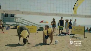 Liberty Mutual TV Spot, \'LiMu Emu & Doug: Volleyball\'