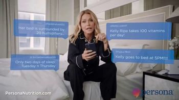 Persona Nutrition TV Spot, 'Internet Theories' Featuring Kelly Ripa