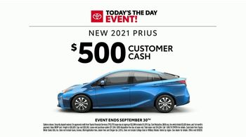 Toyota Today's the Day Event TV Spot, 'Hybrid Power' Song by Elvis Presley [T2] - Thumbnail 6