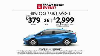 Toyota Today's the Day Event TV Spot, 'Hybrid Power' Song by Elvis Presley [T2] - Thumbnail 5