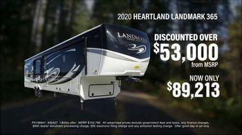 La Mesa RV TV Spot, '2020 Heartland Landmark 365' - Thumbnail 3