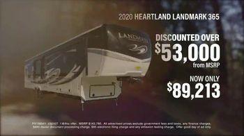 La Mesa RV TV Spot, '2020 Heartland Landmark 365' - Thumbnail 4