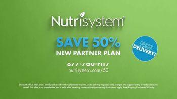 Nutrisystem Partner Plan TV Spot, 'Partner Up: Save 50%' - Thumbnail 10