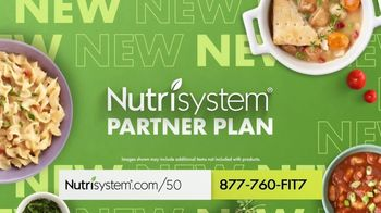 Nutrisystem Partner Plan TV Spot, 'Partner Up: Save 50%' - Thumbnail 3