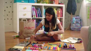 Staples TV Spot, 'School Goes On: Notebooks, Ruler and Glasses' - Thumbnail 1