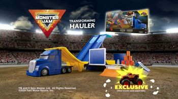 Monster Jam Toys Transforming Hauler TV Spot, 'Mega Ramp' - Thumbnail 9