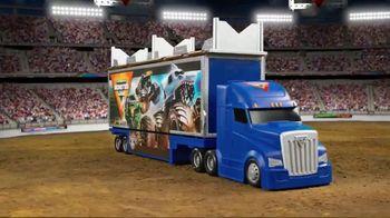 Monster Jam Toys Transforming Hauler TV Spot, 'Mega Ramp'
