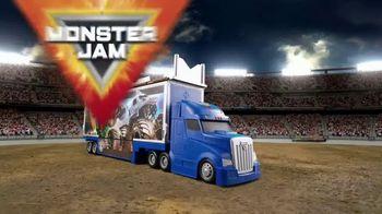 Monster Jam Toys Transforming Hauler TV Spot, 'Mega Ramp' - Thumbnail 8