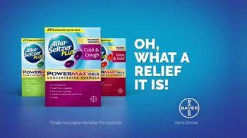 Alka-Seltzer Plus Maximum Strength PowerMax Gels TV Spot, 'Skip to Cold Relief' - Thumbnail 9