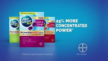 Alka-Seltzer Plus Maximum Strength PowerMax Gels TV Spot, 'Skip to Cold Relief' - Thumbnail 8