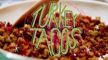Jennie-O Ground Turkey TV Spot, 'Turkey Tacos' - Thumbnail 3