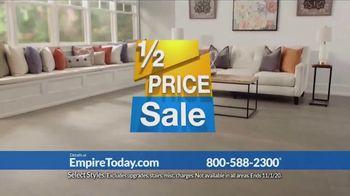 Empire Today 1/2 Price Sale TV Spot, 'Get Gigantic Savings on Beautiful New Floors' - Thumbnail 2