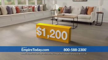 Empire Today 1/2 Price Sale TV Spot, 'Get Gigantic Savings on Beautiful New Floors' - Thumbnail 3