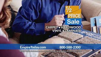 Empire Today 1/2 Price Sale TV Spot, 'Get Gigantic Savings on Beautiful New Floors' - Thumbnail 6