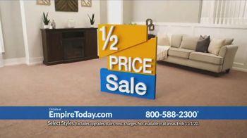 Empire Today 1/2 Price Sale TV Spot, 'Get Gigantic Savings on Beautiful New Floors' - Thumbnail 8