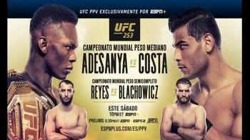 ESPN+ TV Spot, 'UFC 253: Adesanya vs. Costa' [Spanish] - Thumbnail 4