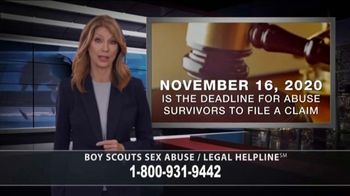Babin Law TV Spot, 'Boy Scouts Sex Abuse Legal Helpline' - Thumbnail 4
