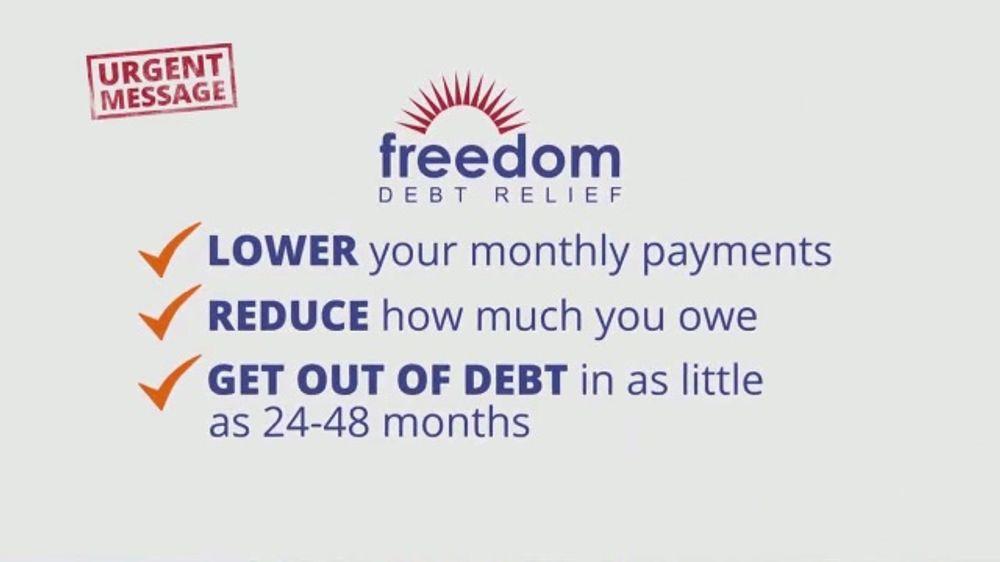 Freedom Debt Relief TV Commercial, 'Urgent Message' - iSpot.tv