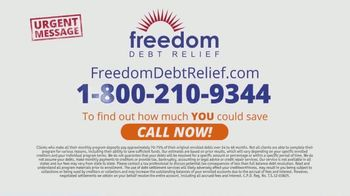 Freedom Debt Relief TV Spot, 'Urgent Message' - Thumbnail 10