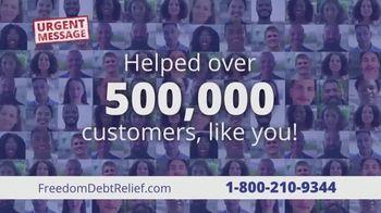 Freedom Debt Relief TV Spot, 'Urgent Message' - Thumbnail 7