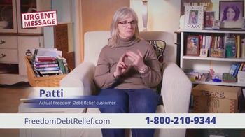 Freedom Debt Relief TV Spot, 'Urgent Message' - Thumbnail 8