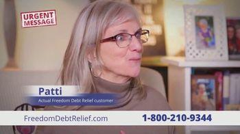 Freedom Debt Relief TV Spot, 'Urgent Message' - Thumbnail 9