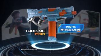 Nerf Elite 2.0 Turbine CS-18 TV Spot, 'Tactical Adrenaline Rush' - Thumbnail 3