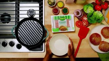 Jennie-O TV Spot, 'Turkey Burgers' - Thumbnail 1