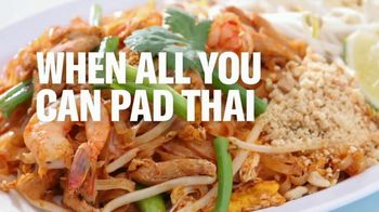 Postmates TV Spot, 'When All You Can Pad Thai Is Think About: NFL' - Thumbnail 7