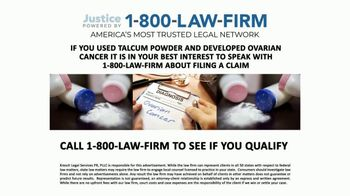 Kresch Legal Services TV Spot, 'Talcum Powder'