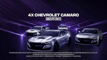 Hard Rock Hotels & Casinos XXL Madness TV Spot, 'Elevated Experience: Four Chevrolet Camaros' - Thumbnail 7