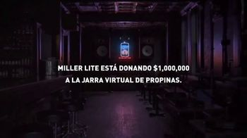 Miller Lite TV Spot, 'Cada propina virtual ayuda' [Spanish] - Thumbnail 5