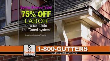 Beldon LeafGuard Spring Blowout Sale TV Spot, 'No Matter the Weather' - Thumbnail 4