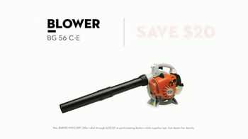STIHL TV Spot, 'Real STIHL: Chain Saw and Blower' Song by Sacha James Collisson - Thumbnail 8
