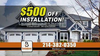 Beldon Siding TV Spot, 'Count on Us: $500 Off' - Thumbnail 4