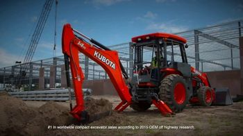 Kubota TV Spot, 'Construction Equipment: Attention to Detail'